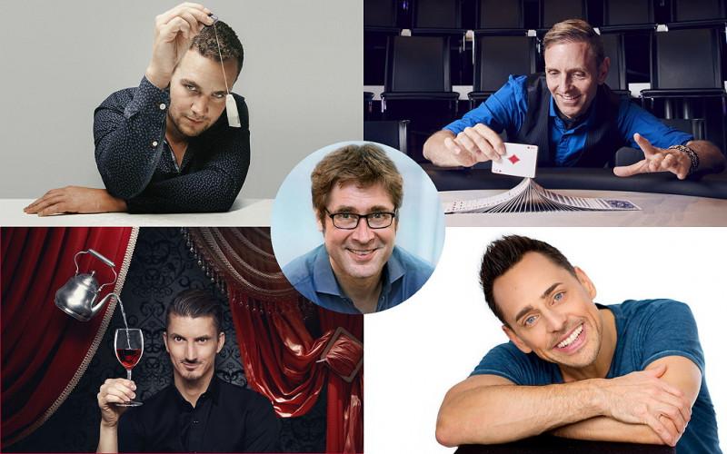 Festival der Spitzenmagier Vol.2 als Aufzeichnung: Magie | Komik | Interaktion ... mit vier internationalen Gästen