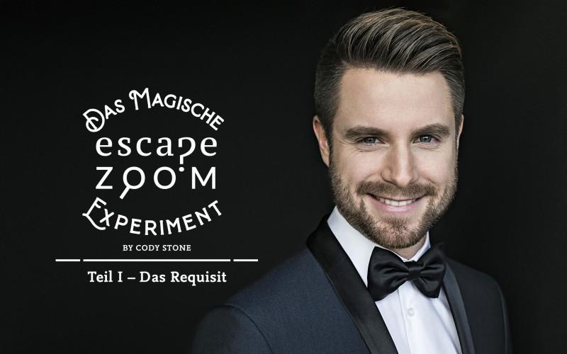 27.04.2021-20:00 Cody Stone: Das magische Escape Zoom Experiment